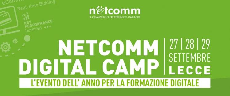 In partenza il primo Netcomm Digital Camp: tre giornate dedicate agli strumenti digitali nell'e-commerce