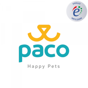 Paco pet shop sito autorizzato sigillo netcomm